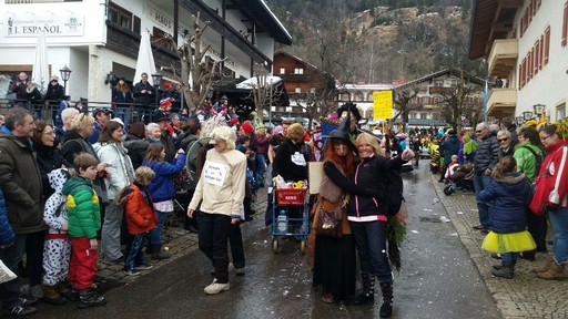 Fasching in Reit im Winkl