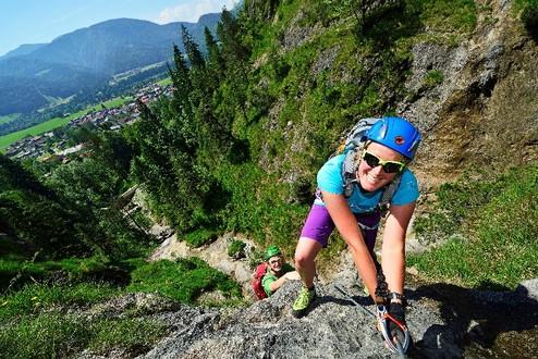 Klettersteig Fall : Klettersteiggehen grundwissen und tipps bergzeit magazin